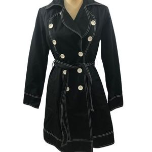 Kate Spade Doublebreasted Rain Trench Coat XS NWT